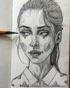 #sketch #pencil #female