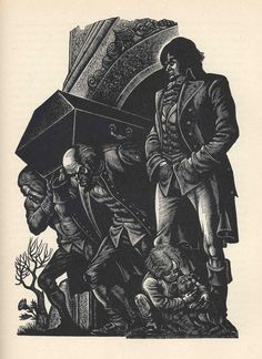 Wuthering Heights - illustrated by Fritz Eichenberg
