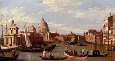 Canaletto, View of the Grand Canal, Venice (Italy)