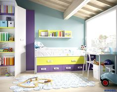 F_73 Cualquier combinación de mueble y color permite adaptar todos los estilos a diferentes edades, descubre, diseña crea tus habitaciones juveniles con Mundo Joven de RIMOBEL  http://rimobel.es/index.php/es/rimobel/mundo-joven/juvenil