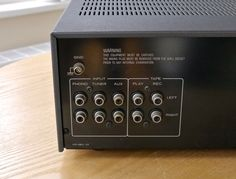 Power output: 20 watts per channel into 8Ω (stereo). Speaker load impedance: 4Ω to 16Ω. Output: 140mV (line). Signal to noise ratio: 72dB (MM), 100dB (line). Input sensitivity: 2.5mV (MM), 150mV (line). | eBay!