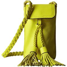 Rebecca Minkoff Isobel Phone Crossbody (Limeade) Cross Body Handbags (2 395 UAH) ❤ liked on Polyvore featuring bags, handbags, shoulder bags, green, leather cross body purse, crossbody shoulder bag, leather crossbody purse, leather man bags and leather crossbody