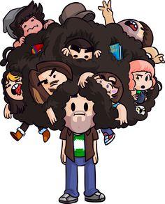Dan's Hair - By Brandon Turner