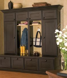 Dura Supreme's Boot Bench & Locker Cabinetry | Dura Supreme Cabinetry