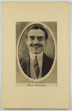 Cartão postal - Max Linder - Cinema mudo. Considerado o..