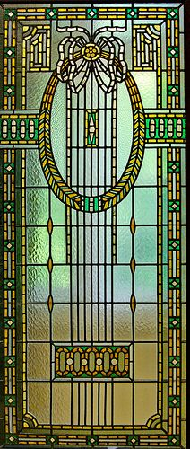 Stained glass by Róth Miksa