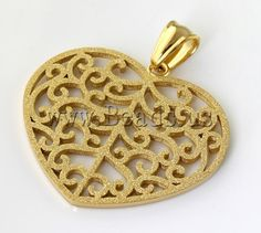 Stainless Steel Jewelry Pendants,  for jewelry making  http://www.beads.us/product/Stainless-Steel-Jewelry-Pendants_p82412.html