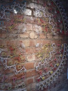 Bella Leonard Fibre, Fiber Art, New Shop, Embroidery Art, Stitches, City Photo, Arts And Crafts, Sculpture, Couture