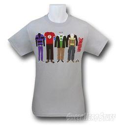 Big Bang Theory Clothes T-Shirt - $19.99