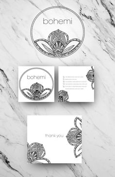 Logo and branding design for Bohemi a fabulous Bohemian Jewelry label based in the US. Uploaded by user Source by astragordon logo Web Design, Label Design, Creative Design, Jewelry Logo, Jewelry Branding, Business Logo, Business Design, Logo Inspiration, Mandala Logo