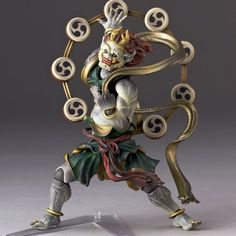 Raijin, the Japanese god of Thunder. I would be surprised if he never made it to Smite. : Smite