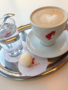 Latte and Macaron Love on chaQula