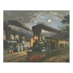 Train Art & Framed Artwork | Zazzle