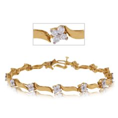 Diamond wave bracelet, this one's a popular one!