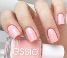 Essie Nail Polish Name Elegant Steal His Name and His Heart with This Gorgeous Light – Cynthia Nail Designs Light Pink Nail Polish, Cute Nail Polish, Essie Nail Polish, Nail Polish Colors, Pink Polish, Nailed It, Manicure, Best Nail Art Designs, Hair Skin Nails