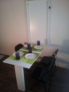 Space Saver Table, Convertible Furniture, Ideas Geniales, Conference Room, Dining Table, Desks, Kitchen, Projects, Home Decor