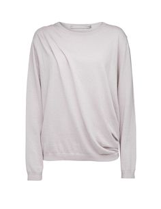 Tiger Of Sweden: Crist pullover - Women's lavender bush pullover in soft  cotton-cashmere