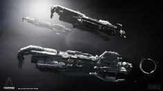 concept ships: Spaceships for After Earth by Colie Wertz