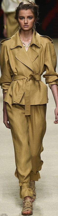 Alberta Ferretti - S 16 women fashion outfit clothing style apparel @roressclothes closet ideas