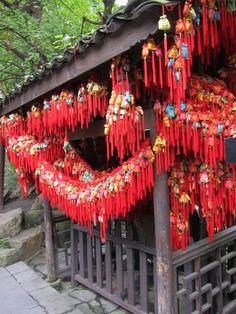Jinli Street in Chengdu, China