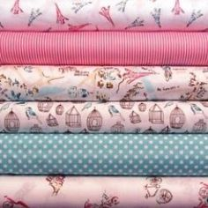 Paris and French Theme Fabrics