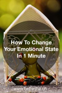 Learn this easy technique used by pro athletes to change from a negative to a positive emotional state in 1 minute!