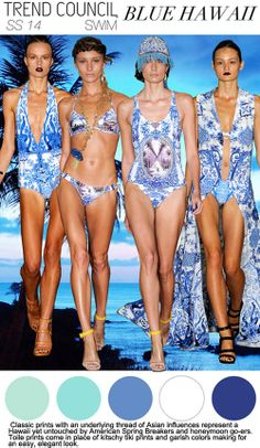 Beach and swimwear for Spring Summer 2014-Trend Council