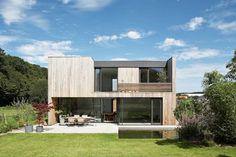 Häuser B1, B2 modern-exterior