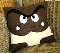 Mario Bros pillow
