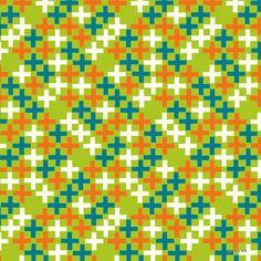 'cross & cross' | Pattern design by anyan