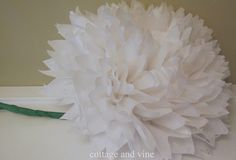 Tissue Flower Tutorial