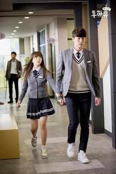 school 2015 who are you korean drama Ulzzang Couple, Ulzzang Girl, Korean Actresses, Korean Actors, Korean Dramas, K Drama, School Uniform Outfits, Chines Drama, Kim Sohyun