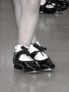 Child tap shoes/ I started taking dance class in second grade at the Duvall Studios. I took tap, ballet and tumbling.