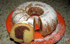Hrníčková bábovka Toffee Bars, Bunt Cakes, Czech Recipes, No Bake Cake, Bagel, Doughnut, Bread Recipes, Sweet Recipes, Muffin