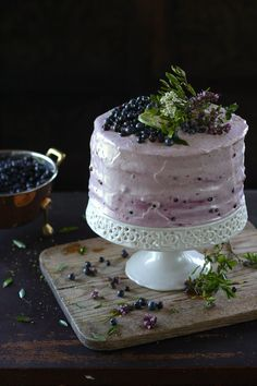 Blueberry Lime Layer Cake recipe | Dessert Recipes | PBS Food
