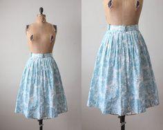 Vintage 1950's Circle Skirt
