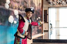 It isn't just fresh air mountain views and sublime natural scenery that await at Banyan Tree Jiuzhaigou in the Tibetan borderlands of China's Sichuan provincesome hotel staff are even clad in traditional attire. #Travel #China #Sichuan #Jiuzhaigou #BanyanTreeHotels