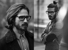 Today we are talking all about men's hair. Short, medium, long, beards, and lizard. Less hair...