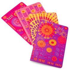 Jonathan Adler Bohemian Bliss Miniature Journals Set of 4 (4x6)