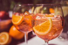 Aperol Drinks, Alcoholic Drinks, Impreza, Prosecco, Liquor Drinks, Alcoholic Beverages, Liquor