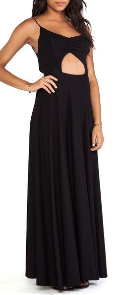 Keyhole Ruched Dress