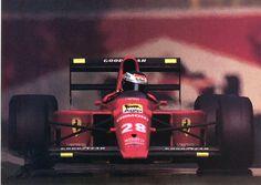 Gerhard Berger, Ferrari 640, Monza 1989