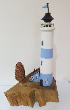 Cliff top lighthouse. Last minute addition to craft fair stock
