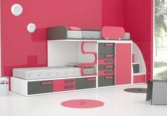 Kinderzimmer Spielzimmer Hochbett Jugendzimmer einzigartig freie Farbwahl Kinder in Möbel & Wohnen, Möbel, Schlafzimmer-Sets | eBay