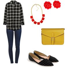 Sin título #8 by s-ling-yevenes on Polyvore featuring polyvore, beauty, Fornash, Angela & Roi, Madewell, Frame Denim and J.Crew