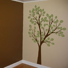 This would be perfect for his corner of our room. The walls are already those colors!
