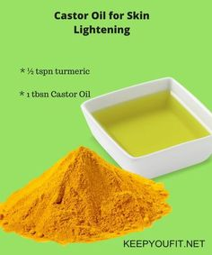 9 HOME REMEDIES - Castor Oil for Skin Whitening,Pigmentation,dark spot,wrinkles - KEEP YOU FIT