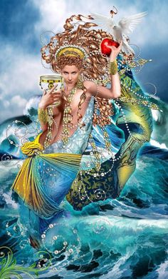 Card of the Day – Queen of Cups – Monday, June 27, 2016 « Tarot by Cecelia