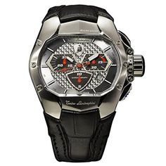 Tonino Lamborghini GT1 Chronograph 860S Watch by Tonino Lamborghini -- Awesome products selected by Anna Churchill