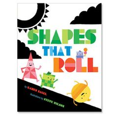 "Read ""Shapes That Roll"" by Karen Nagel available from Rakuten Kobo. Some shapes roll . some don't. Some shapes stack . others won't. Some shapes lie down .while others stand ta. Math Literature, Math Books, Preschool Books, Preschool Math, Math Classroom, Kindergarten Math, Teaching Math, Book Activities, Teaching Ideas"